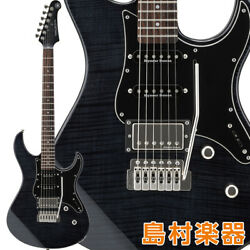 Yamaha Pacifica612viifm Tbl Electric Guitar Translucent Black Pacifica Pac612