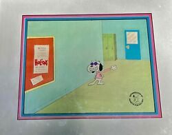 Production Animation Cel, Peanuts, Snoopy, You're Not Elected Charlie Brown