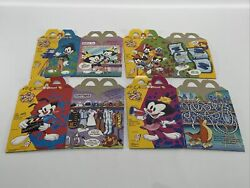 90's Mcdonalds Happy Meal Boxes- Animaniacs And Tale Spin Lot Of 4