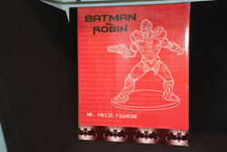 Wb Exclusive - Batman And Robin Movie - Mr. Freeze Figurine - With Box - 1997