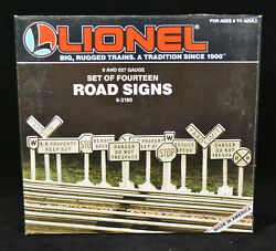 Lionel 6-2180 Road Signs O Scale