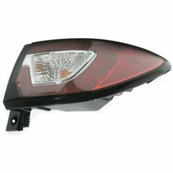 Passenger Right Side Tail Lamp Outer, On Body Its 2013 2017 Chevrolet Traverse