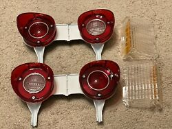 1972 Chevelle Tail Light Assembly Clear Parking Lamp Light Lenses Value Package