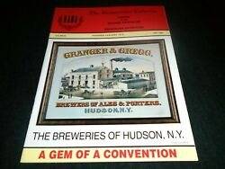 Beer History Book- Hudson New York Breweries, Evans, Granger And Gregg, Old Signs