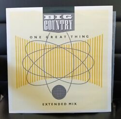 BIG COUNTRY One Great Thing Ex Boston Mix B W song Of The South UK 12quot; 45 MINT.