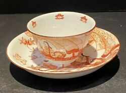 Meissen 18th C Porcelain Cup And Saucer 2andrdquo