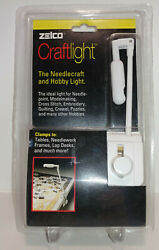 Zelco Needle Craft And Hobby Light Clamps To Tables - New Unopened