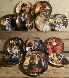 The Bradford Exchange Gone With The Wind Collectors Plates By H Rogers Set Of 13
