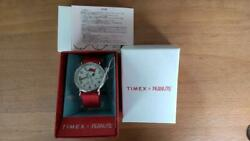 Timex × Peanuts Collaboration Snoopy On The Move Watch Limited Wrist Watch