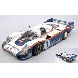 Scale Model Compatible With Porsche 956 Lh N.1 Winner Lm 1982 Ickx-bell 118 Sol