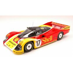 Scale Model Compatible With Porsche 962c Shell N.17 2nd Lm 1988 Stuck-bell-ludwi