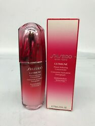 Shiseido Ultimune Power Infusing Concentrate 75 Ml./ 2.5 Oz. New Ob