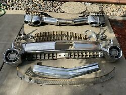 1959 Cadillac Front And Rear Bumper With Extra Parts