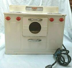 Empire Little Lady Electric Working Stove Oven Range Vintage 1950 Toy
