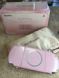 Sony Psp Playstation Portable And Jillstuart Collaboration Sweet Limited Package