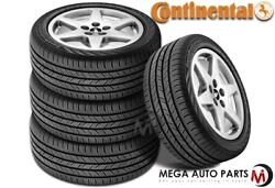 4 Continental Contiprocontact 245/45r19 98w All Season Touring Passenger Tires