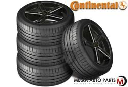 4 Continental Extremecontact Sport 265/35zr20 99y Xl Max Performance Summer Tire