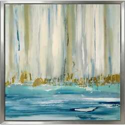 Mountain Water I By Susan Jill Print On Canvas In Floating Oversized