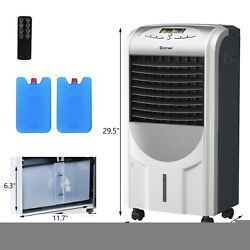 Portable Air Cooler Fan With Heater And Humidifier Function Household Appliances