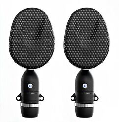 Coles 4038 Ribbon Mics/matched Pair With 4071b Stand Mount Adapters - New