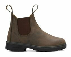 Blundstone Classic Chelsea 565 Rustic Brown Leather For Everyday Style Kids