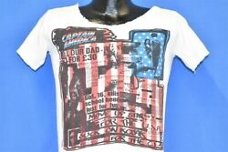 Vintage 70s The Clash Im So Bored With Usa Punk Newspaper Distressed T-shirt S