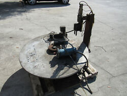 Rotary Table For Hydrualic Press