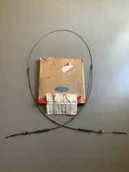 Nos Ford 1966 Mustang Shelby Gt350 Rear Parking Brake Cable-early Concourse