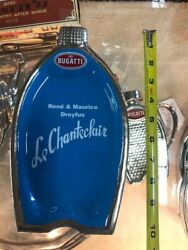 Bugatti Grill In French Blue - Cheese Plater Dreyfus Restaurant Le Chanteclair