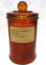 Harvest Pumpkin And Praline Apothecary Jar Candle By East West 19.04 Oz - 80 Hours