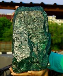 46480ct/9.296kg Natural Green Emerald Gemstone Raw Huge Rough Expedited Shipping