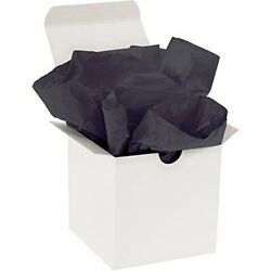 Boxes Fast Gift Grade Tissue Paper 15 X 20 Black Pack Of 960