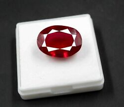 Expedited Shipping 40.55ct Untreated Red Ruby Natural Gemstone Big Offer Pg175