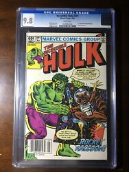 Incredible Hulk 271 1982-1st Rocket Raccoon-cgc 9.8-white Pages - Newsstand