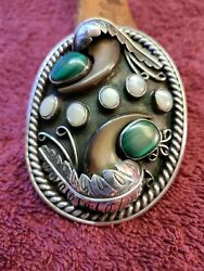 Native American Belt Buckle Made By Gary Edwards Of Bend Oregon