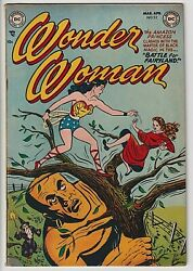Wonder Woman 52 Vf- 7.5 Great Eye Appeal Rare Only 24 Ever Graded Wow