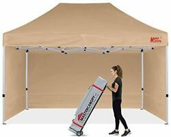 Mastercanopy Durable Pop-up Canopy Tent 10x15 Heavy Duty Instant Canopy With ...