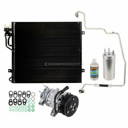 For Jeep Liberty V6 2002-2005 A/c Kit W/ Ac Compressor Condenser And Drier Tcp