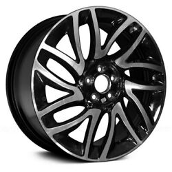 For Fiat 500l 14-17 Alloy Factory Wheel 14 Spiral-spoke Machined And Black 17x7