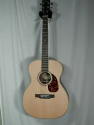 Larrivee Om-40r Custom Indian Rosewood Back And Sides, Spruce Top, 05/09 Headstock