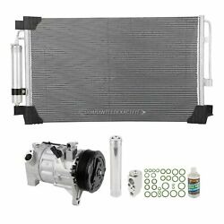 For Nissan Altima 2013 2014 2015 A/c Kit W/ Ac Compressor Condenser And Drier