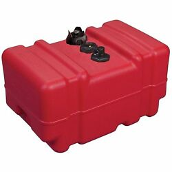Portable Gas Tank 12 Gallon Fuel Can For Above Deck Marine Boat Atv Car Truck