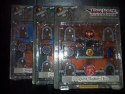 Dungeon And Dragons Mage Knight Dungeons Builders Kit, Heroclix Dandd Tiles Map