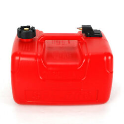 Portable Red 3.2 Gallon/ 12l Marine Outboard Boat Motor Gas Tank External Fuel