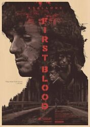 Rambo First Blood Movie Poster Wall Painting Home Decoration Gift Art Print