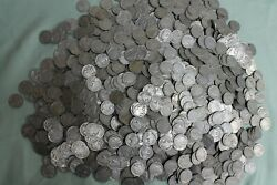 Large Lot Over 1200+ Mixed No Date/part Date - Indian Head Buffalo Nickels Nice