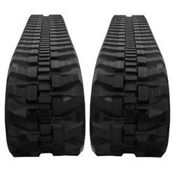 Two Rubber Tracks For Bobcat T200 T630 T650 450x86x52 Block Tread Free Shipping