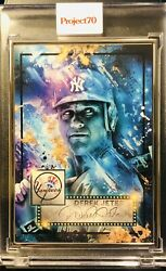 Topps Project 70 430 Derek Jeter By Mikael B - Artist Proof Sp 15/51 - In Hand