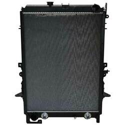 Plastic Aluminum Radiator With Oil Cooler And Frame 32.5 X 24.75 Inch Fits Hino
