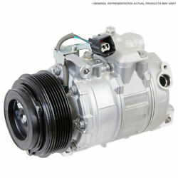 Ac Compressor And 152mm Double V-belt A/c Clutch Replaces Tama Tm-31 488-46510